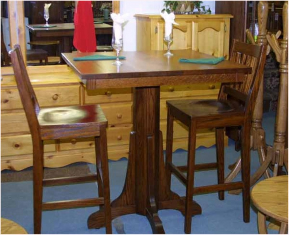 Oak Mission Pub Table And Bar Stool Set Lloyd39s & Oak Pub Table Set - Castrophotos