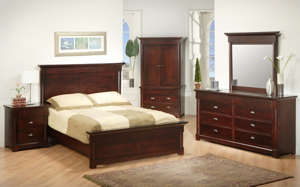Hudson valley mennonite bedroom suite lloyd 39 s mennonite for Furniture ontario ca