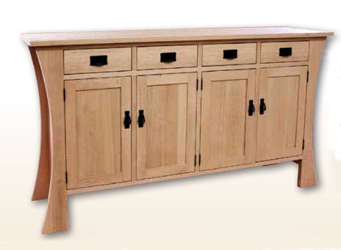Mission sideboard lloyd 39 s mennonite furniture gallery for Furniture ontario ca