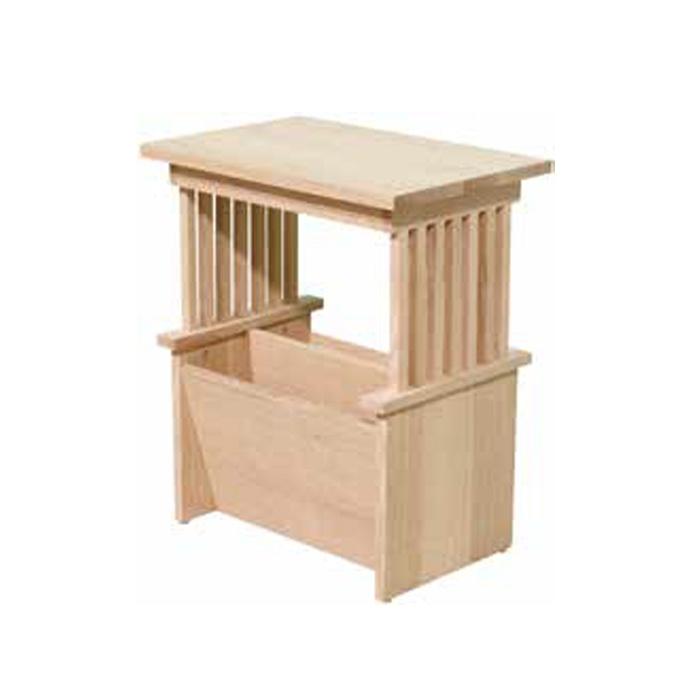 Mission Magazine Rack Lloyd 39 S Mennonite Furniture Gallery Solid Wood Mennonite Furniture