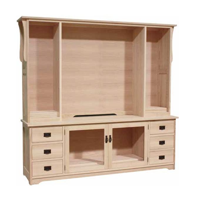 Mission 85 Hdtv Unit Lloyd 39 S Mennonite Furniture Gallery Solid Wood Mennonite Furniture