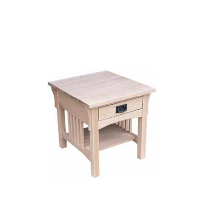Mission End Table Lloyd 39 S Mennonite Furniture Gallery Solid Wood Mennonite Furniture Dining