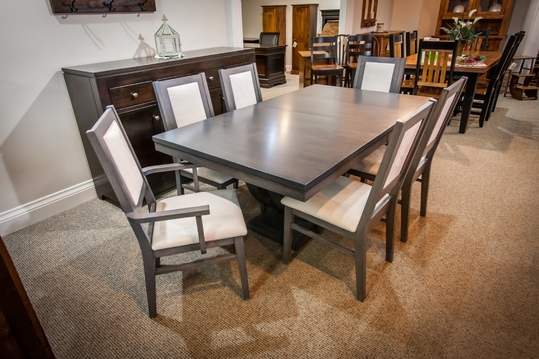 Maple metro table with contempo chairs lloyd 39 s mennonite for Furniture ontario ca
