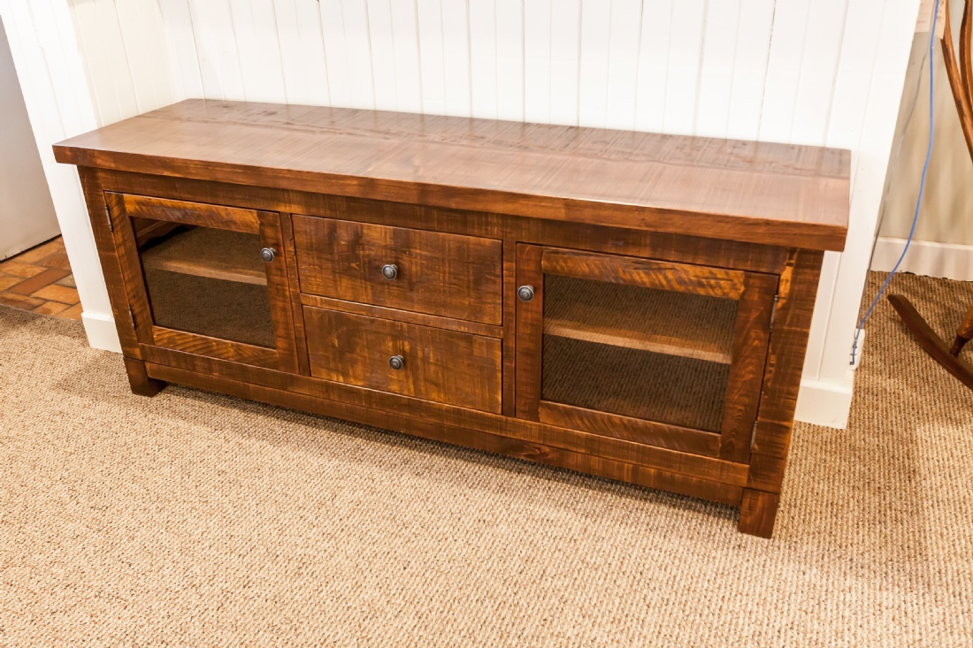 Rustic pine frontier entertainment unit lloyd 39 s for Furniture ontario ca
